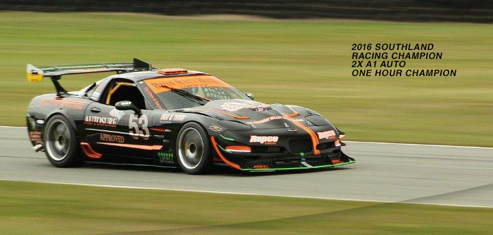 Brian Scott Southland Sports Car Champion
